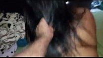 Esposa fazendo sexo oral e dando de quatro