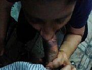 Boqueteira provando rola do cunhado sacana