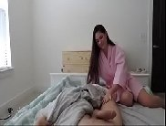 Amadora caseira fazendo samba porno com a pica do seu macho