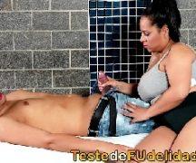 Porna brasil comendo a gordinha cachorra