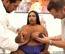 Porno gorda pretinha em foda