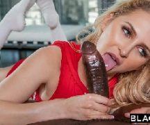 Porno amiga loira em sexo com o bem dotado negro