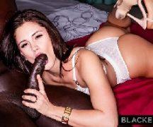 Teen sexo bem dotado negro fode a vagabunda