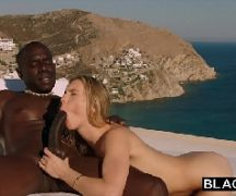 Porno mandingo com bem dotado negro comendo a loira