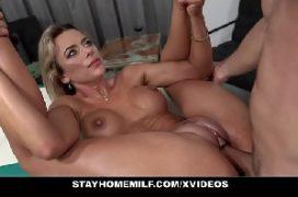 Casal sex em um sexo com prazer